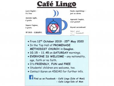 Cafe Lingo flyer 2019-20