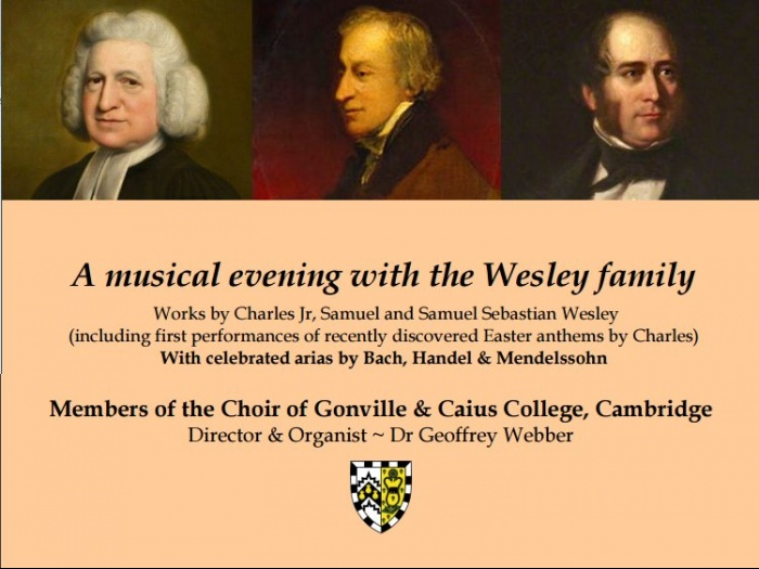 Evening with the Wesleys